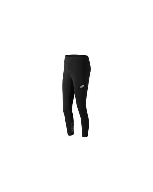 New Balance - Black NB Athletics Legging - Lyst