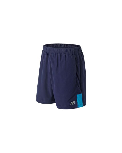 Accelerate 7 Inch Short New Balance de hombre de color Blue