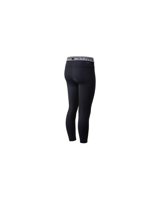 New Balance Black Damen Relentless High Rise 7/8 Leggings