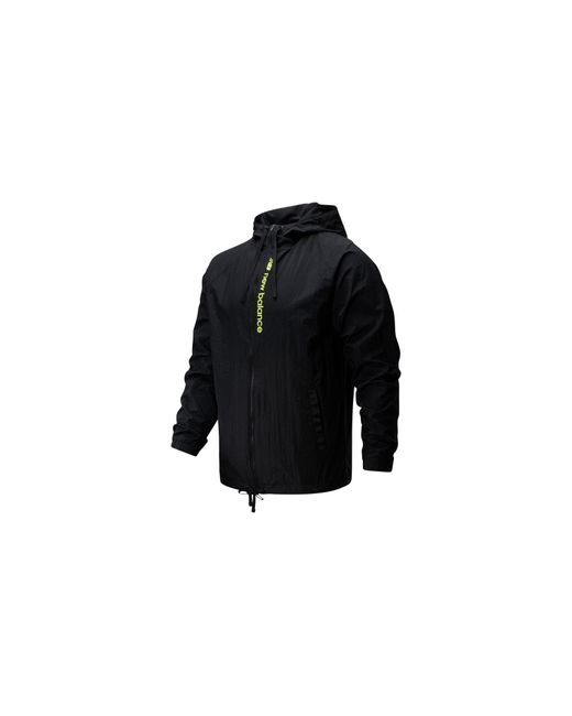New Balance Herren Sport Style Optiks Windbreaker in Black für Herren