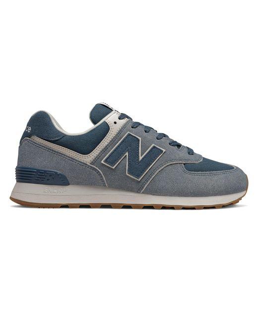 Homme 574 New Balance pour homme en coloris Blue