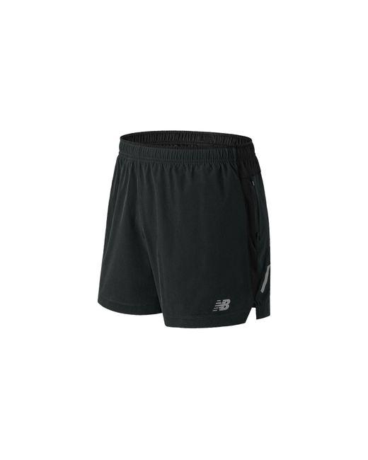 New Balance Herren Impact 5 inch Shorts in Black für Herren