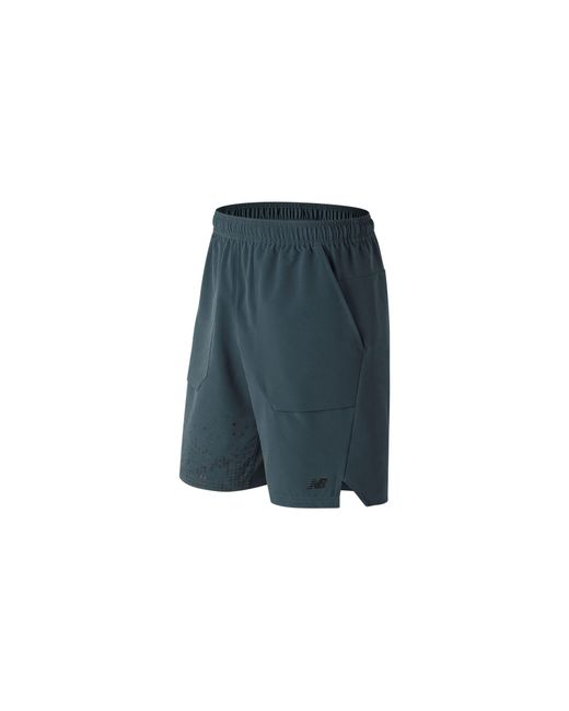 New Balance - Blue Printed Max Intensity Short for Men - Lyst