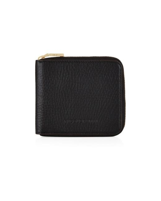 Nicole Farhi | Black Bubble Zip Purse | Lyst