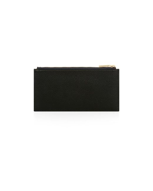 Nicole Farhi | Black Small Zip Top Pouch | Lyst