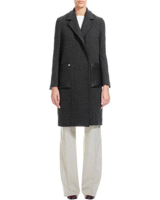 Nicole Farhi | Gray The Fourting Coat | Lyst