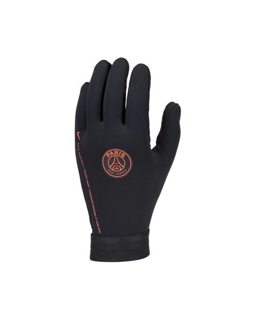 Gants de football Paris Saint-Germain HyperWarm Academy Nike pour homme en coloris Black