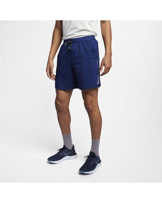 """Nike Blue """" Flex Stride 7"""""""" Running Shorts for men"""