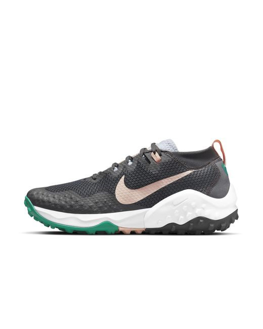 Nike Gray Wildhorse 7 Trail Running Shoe