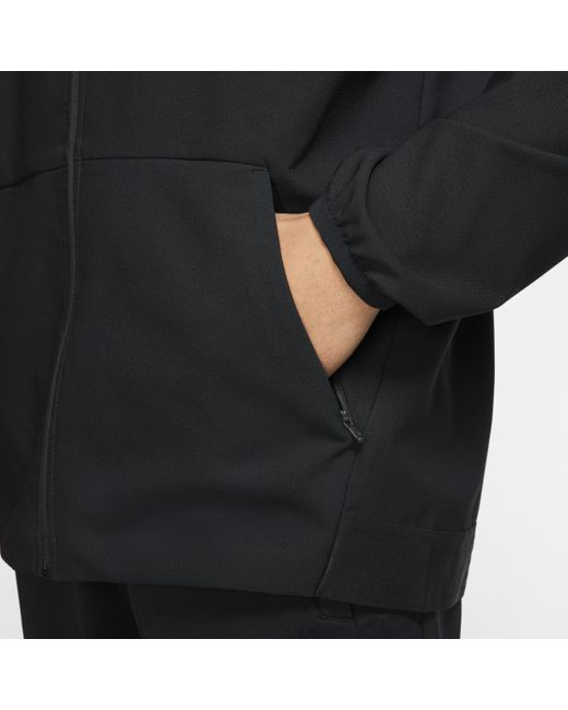 Veste de trainingà zip Flex pour Nike pour homme en coloris Black