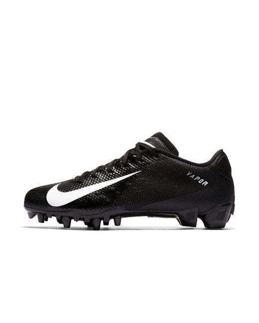95e7b53d9bea Nike - Black Vapor Untouchable 3 Speed Football Cleat for Men - Lyst ...
