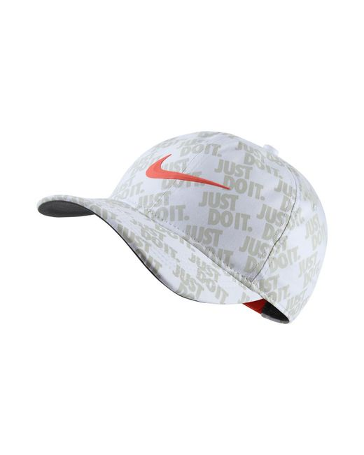 super popular ccb65 e6d50 Nike - Aerobill Classic99 Golf Hat (white) - Clearance Sale for Men - Lyst