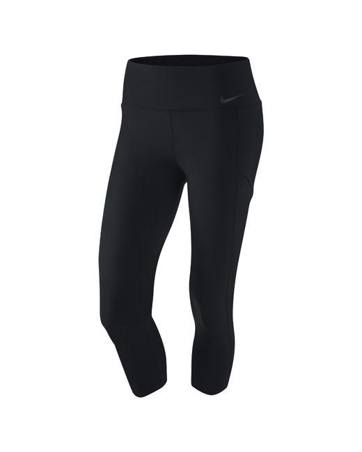 Nike | Black Capri Tight | Lyst
