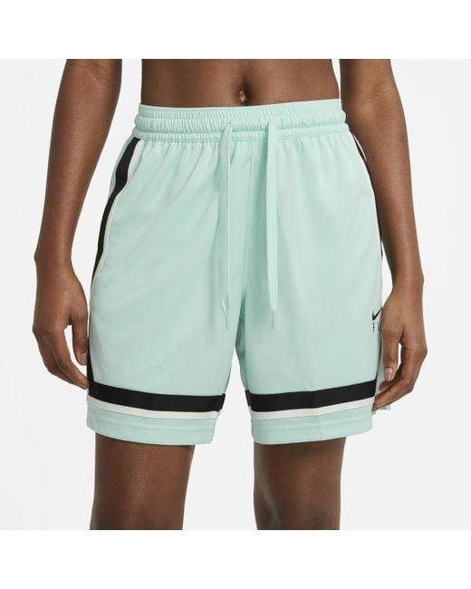 Nike Green Dri-FIT Swoosh Fly -Basketballshorts