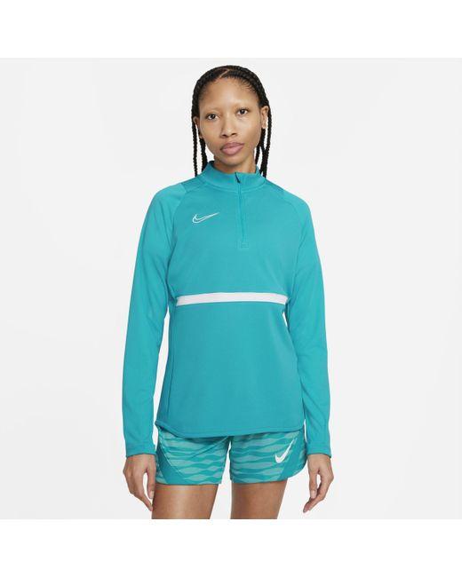 Maglia da calcio per allenamento Dri-FIT Academy di Nike in Blue