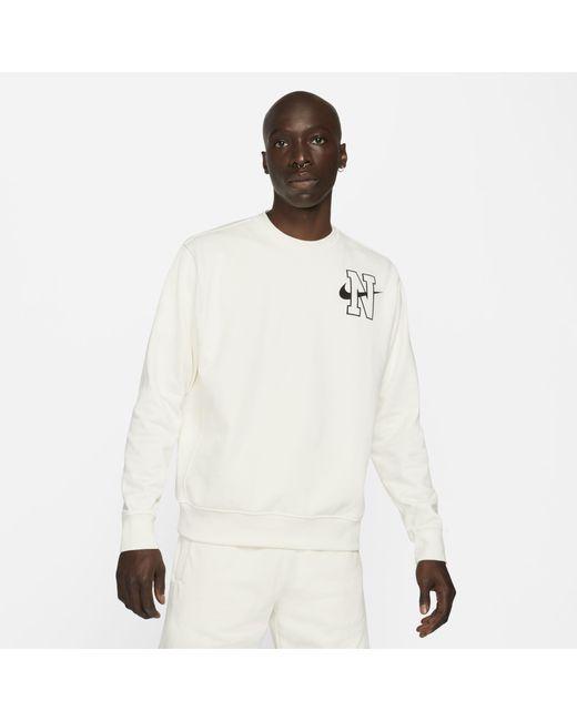 Nike Gray Sportswear Crew Sweatshirt Grey for men