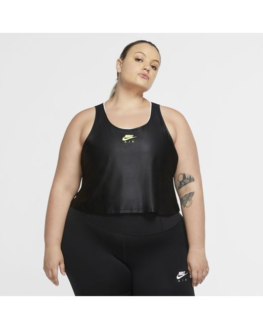Nike Black Air Lauf-Tanktop