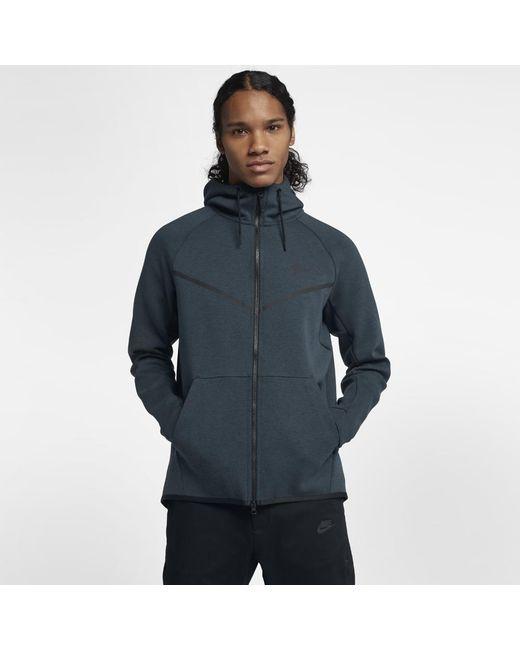 Nike - Blue Sportswear Tech Fleece Windrunner Men s Full-zip Hoodie for Men  - Lyst 4f770609b76d