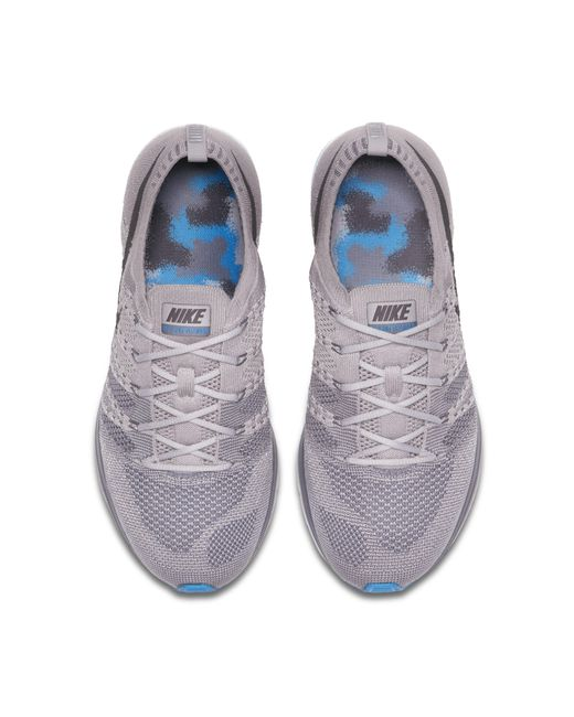 new products bfacb 30150 ... Nike - Gray Flyknit Trainer Unisex Shoe - Lyst ...
