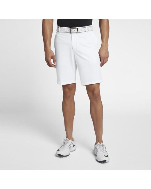 9d0211af8 Lyst - Nike Flex Men's Golf Shorts in White for Men - Save 41%