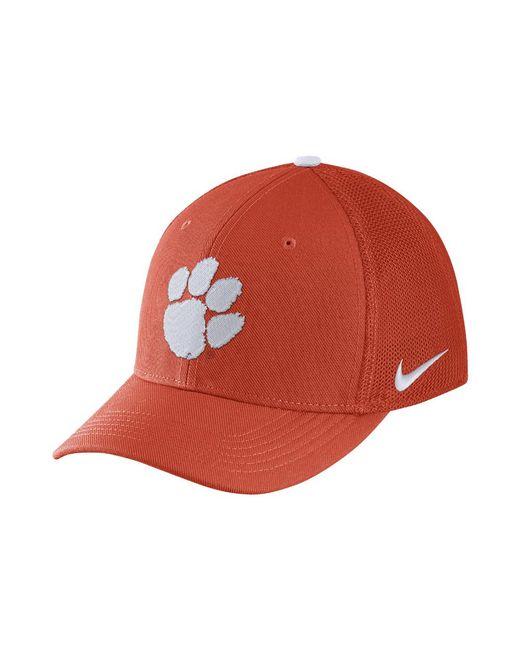 super popular 108ff 553f8 Nike - Orange College Classic 99 Swoosh Flex (clemson) Fitted Hat for Men -
