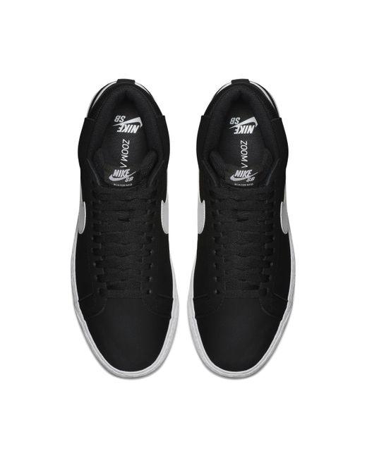 Blazer Mid '77 Nike de hombre de color Black
