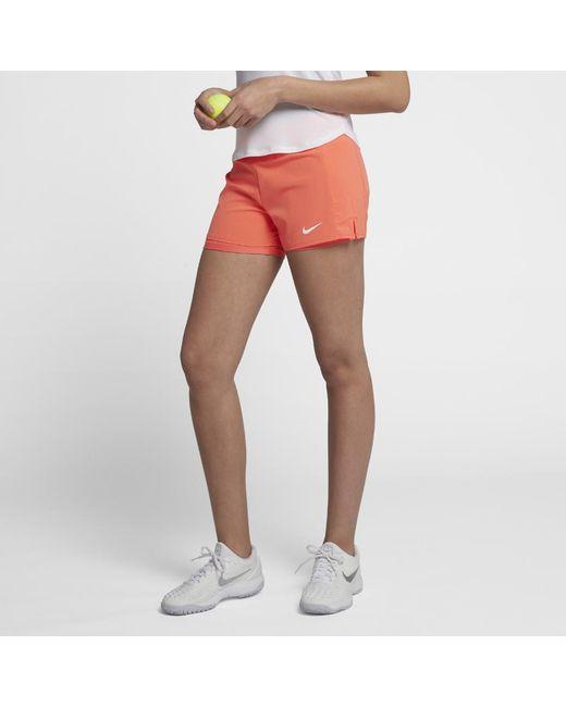 eab9f9b8a555b Nike - Multicolor Court Flex Pure Women s Tennis Shorts - Lyst