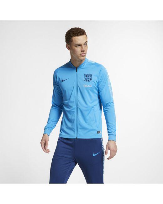 Nike - Blue FC Barcelona Dri-FIT Squad Fußball-Trainingsanzug für Herren for Men - Lyst