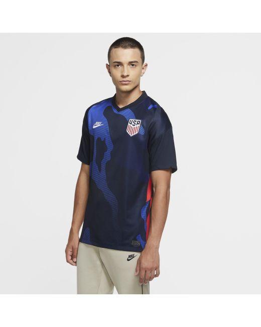 Maglia da calcio U.S. 2020 Stadium da uomo di Nike in Blue da Uomo