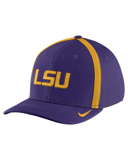 b279f50351b Nike - Purple College Aerobill Swoosh Flex (lsu) Fitted Hat for Men - Lyst