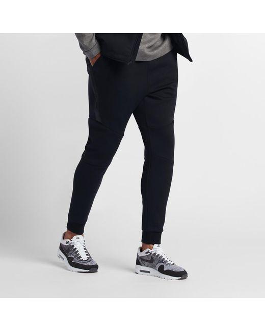 Black Sportswear Men's Joggers Nike in for Fleece Lyst Men Tech Kc3lJF15uT