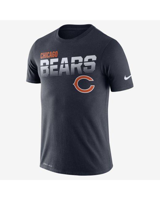 Nike Blue Legend (nfl Bears) Short-sleeve T-shirt for men