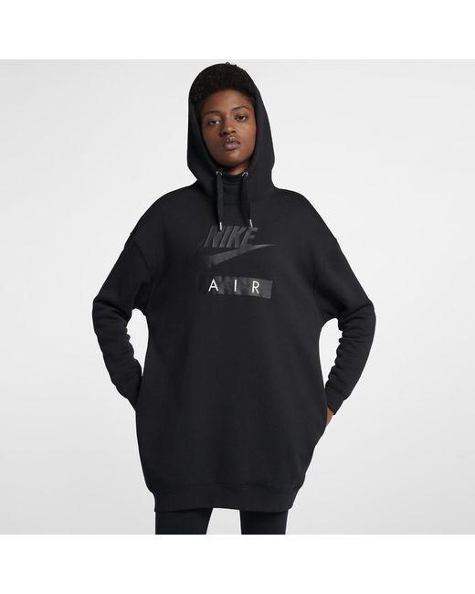c9271960f64 Lyst - Nike Sportswear Rally Women s Hoodie in Black