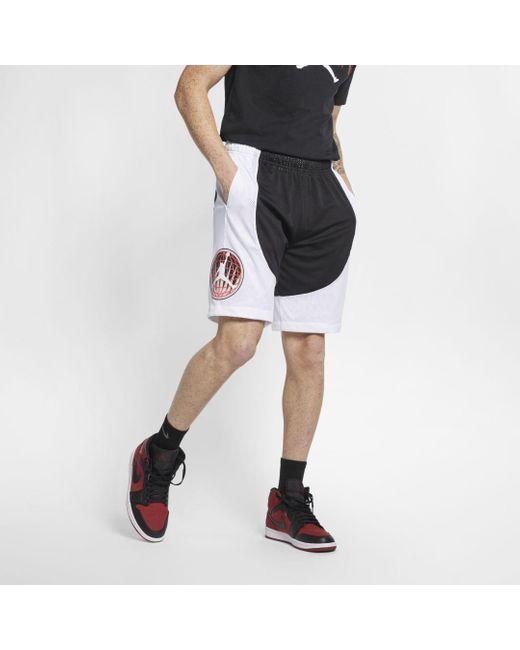 acrobazia lo stesso portafoglio  Nike Jordan Legacy Flight Nostalgia Aj 9 Mens Shorts in Black for Men - Lyst