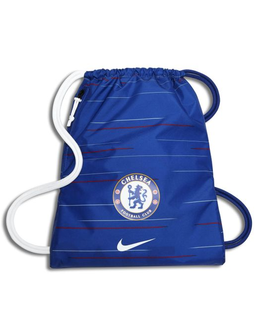 47eebdc239e0 Nike Chelsea Fc Stadium Football Gymsack in Blue - Lyst