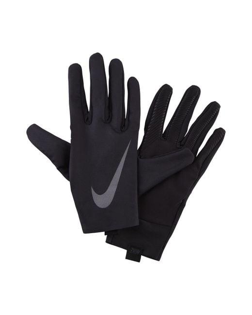Nike - Black Pro Warm Liner Herren-Trainingshandschuhe for Men - Lyst