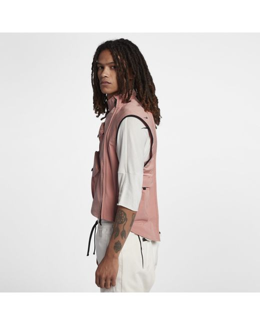 1f55cc1102 ... Nike - Pink Lab Aae 2.0 Gilet for Men - Lyst ...