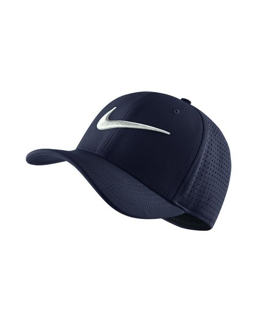 a38ebeaea5d Lyst - Nike Vapor Classic 99 Sf Fitted Hat (blue) - Clearance Sale ...