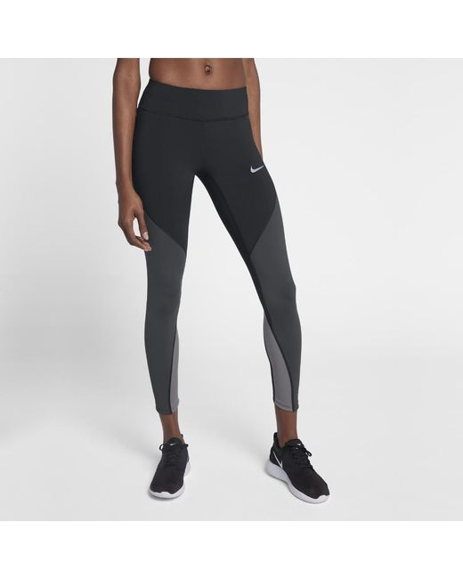timeless design 52f68 bfc03 Nike - Black Epic Lux Women s Running Tights - Lyst