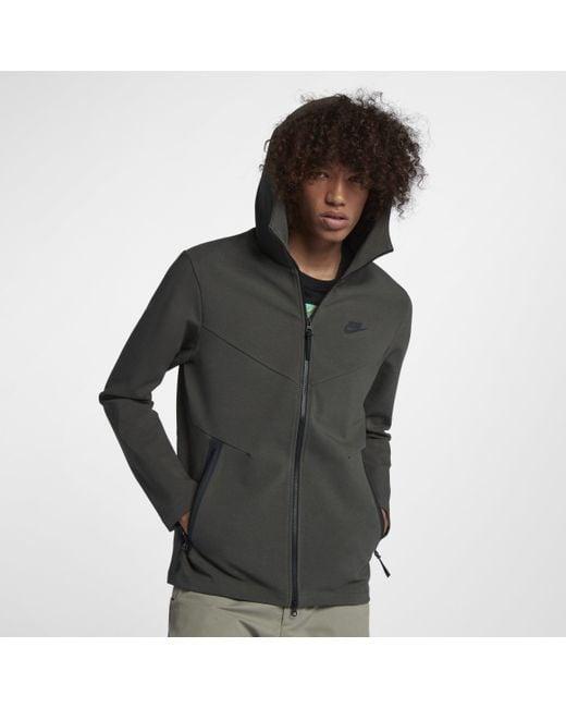 17a065c8 Nike Sportswear Tech Pack Full-zip Hoodie in Gray for Men - Lyst