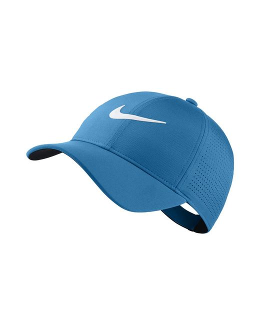 571b558ad8a Nike - Aerobill Legacy 91 Adjustable Golf Hat (blue) - Clearance Sale for  Men