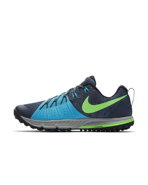 6335f2c77c3a8 Lyst - Nike Air Zoom Wildhorse 4 Men s Running Shoe in Blue for Men