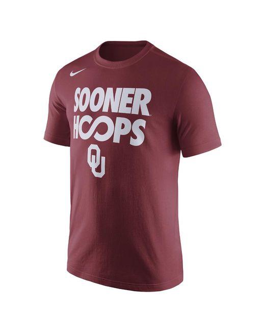 Nike | Red College Basketball (oklahoma) Men's T-shirt for Men | Lyst