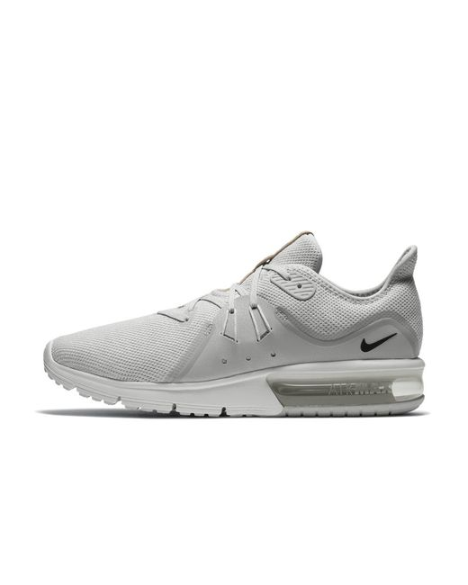 168c21a98d Lyst - Nike Air Max Sequent 3 Men's Running Shoe in White for Men