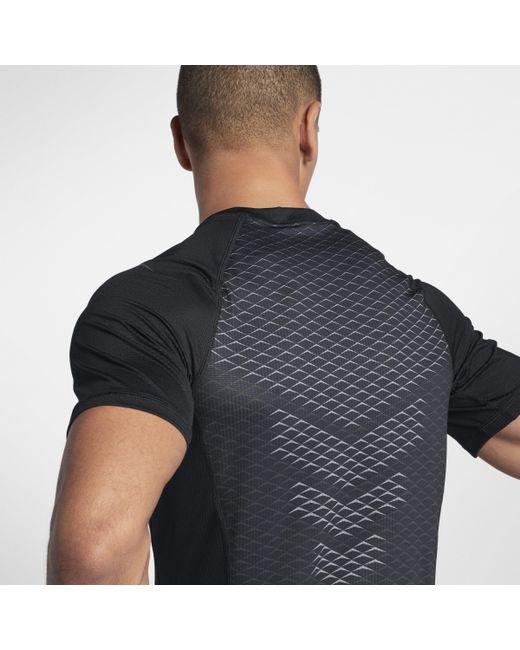 Nike - Black Haut de trainingà manches courtes Pro HyperCool pour Homme for Men - Lyst