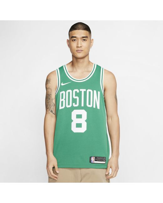 Maillot NBA Swingman Kemba Walker Celtics Icon Edition pour Nike pour homme en coloris Green