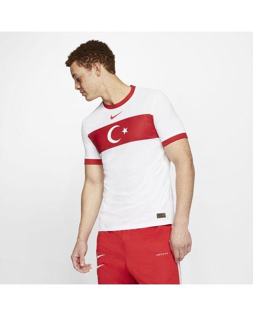 Nike Turkey 2020 Vapor Match Home Football Shirt White for men
