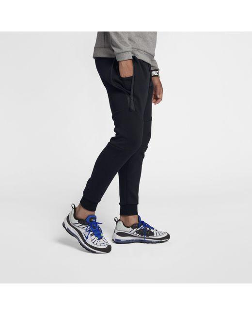 exclusive range details for separation shoes Men's Black Sportswear Tech Fleece Joggers
