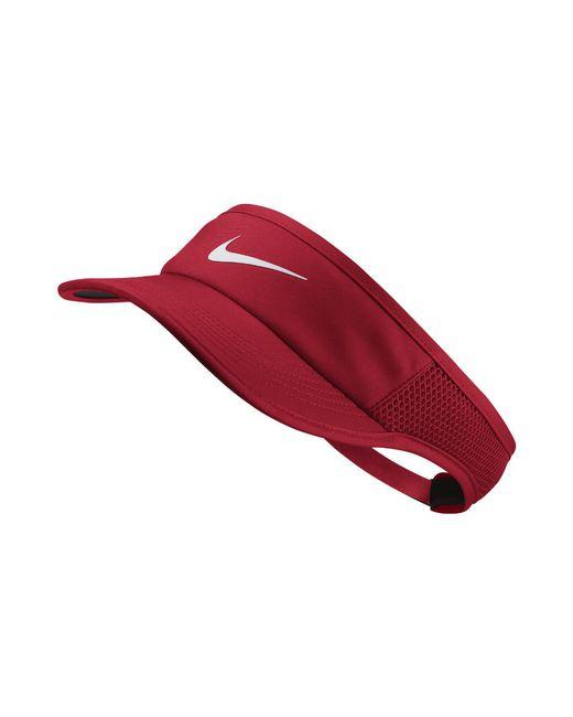 Nike | Court Aerobill Women's Tennis Visor (red) | Lyst