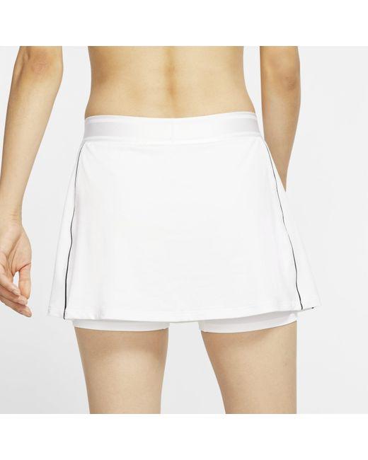 Nike Court Dri-fit Tennis Skirt (white
